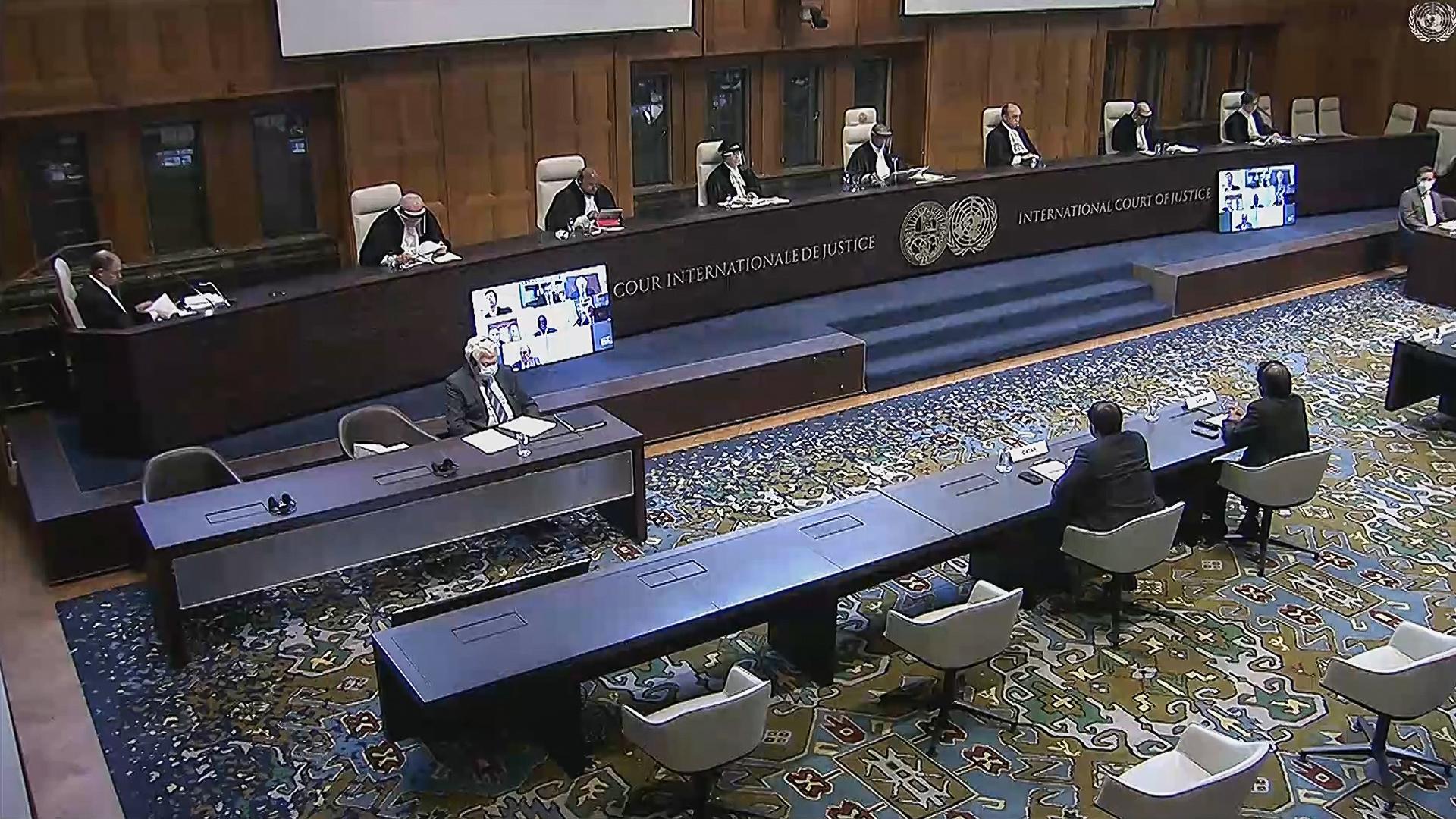 التعليق على حكم محكمة العدل